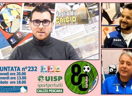 UISP IN TV | VIDEO | Guarda la Puntata n°232 di 80°Minuto