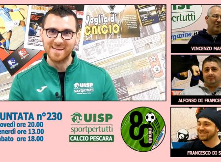 UISP IN TV | VIDEO | Guarda la Puntata n°230 di 80°Minuto