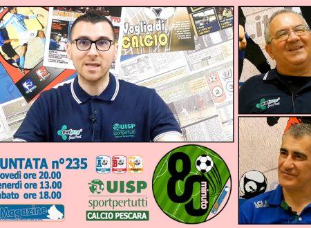 UISP IN TV | VIDEO | Guarda la Puntata n°235 di 80°Minuto