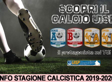 ISCRIZIONI 19-20 | Lunedì 10 Giugno inizia ufficialmente la Nuova Stagione di Calcio UISP