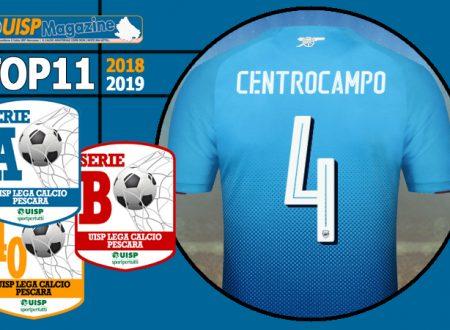 TOP 11 | 2018-19 | Scopri la MAGLIA N°04 di SERIE A, SERIE B, OVER40