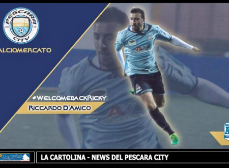 CALCIOMERCATO | Il Pescara City rinforza la Difesa: Ufficiale il Ritorno di Riccardo D'Amico
