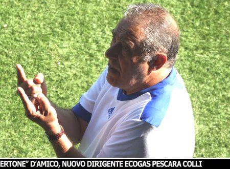 CALCIOMERCATO | L'Ecogas Pescara Colli rinforza la Dirigenza con Roberto D'Amico